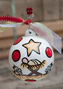 A King is Born Ball Ornament $14