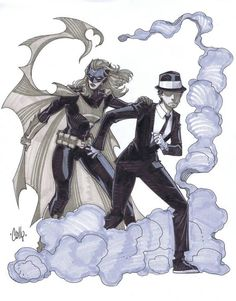 Batwoman & The Question - Cully Hamner