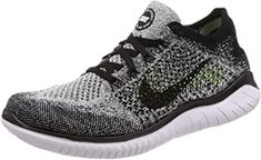 his version of Flyknit has added stretch yarns for an even more snug, foot-hugging fit, especially in the heel. The upper is easy to collapse, so you can quickly slide the shoe into your tote or backpack. Black Running Shoes, Hiking Shoes, Running Shoes For Men, Running Women, Cream Shoes, Mary Jane Shoes, Western Boots, Shoes Online, Nike Free