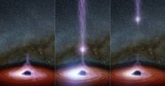 NASA Just Saw Something Come Out Of A Black Hole For The First Time Ever | UPRISER