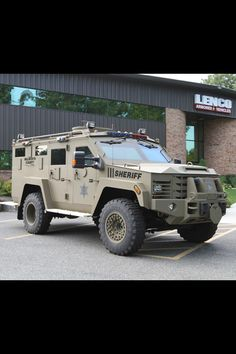 Lenco Armored Vehicle - Sheriff