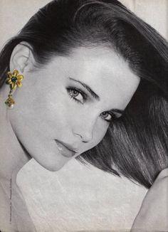 Estee Lauder, early 80s  Photographer: Skrebneski  Model: Willow Bay