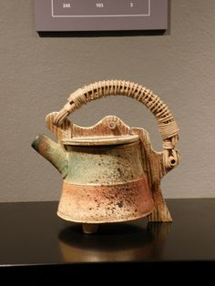 Wood Fired Teapot by Michael Poness