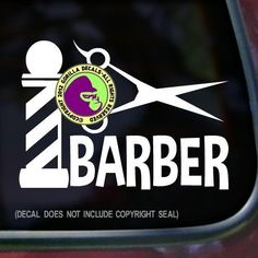 BARBER POLE Vinyl Decal Sticker 1 >>> Click on the image for additional details.