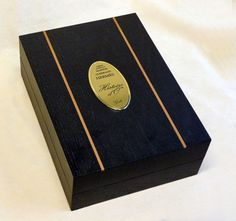 scatola in legno per olio