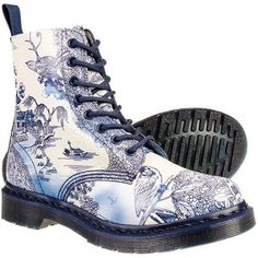 Doc Martens Willow Pattern Boots