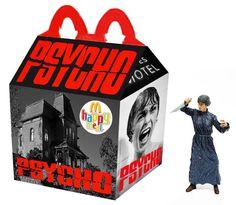 Da Evil Dead a Nightmare - 25 Happy Meal McDonald da film horror Cult Movies, Scary Movies, Horror Movies, Ghost Movies, Natural Born Killers, Kill Bill, Blade Runner, Pepsi, Happy Meal Box