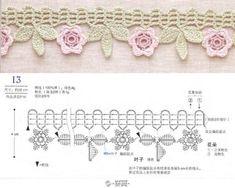crochet lace diagram 4