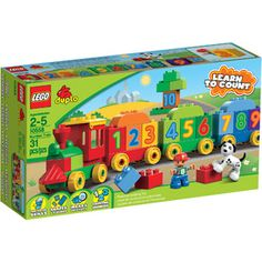 LEGO DUPLO Learning Play Number Train Play Set For Austin