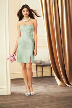 Today's Bride and Formal Wear-Alfred Angelo Bridal Style from Bridesmaids Bridesmaid Dresses Under 100, Affordable Bridesmaid Dresses, Bridesmaid Dress Styles, Wedding Dress Styles, Wedding Attire, Wedding Bridesmaids, Alfred Angelo Bridesmaid, Alfred Angelo Bridal, Girls Special Occasion Dresses