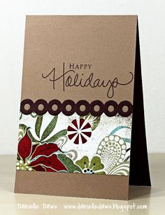 love the patterned paper