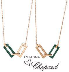 RIHANNA ❤ CHOPARD Necklaces