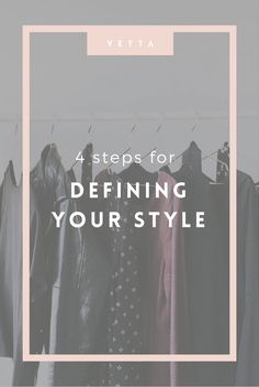 We'll help you hone in on your own personal style so that you can build a wardrobe you love!