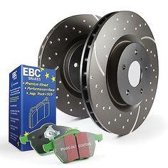 EBC Brakes S3KR1014 S3 Kits Greenstuff 6000 and GD Rotors Truck and SUV