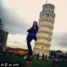 Oh ya know....just kickin' it real casual in Pisa. #studyabroad #italy #pisa #leaningtowerofpisa #travel #adventure #isaabroad #Repost @jax_6492 with @repostapp  #isaitaly #theworldawaits #seetheworld #isaeurope by isaabroad