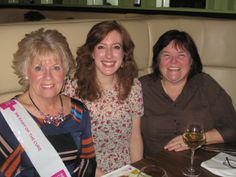 Guests at the Pink Champaigners Ladies Lunch in Preston #volunteer #fundraising #breastcancer