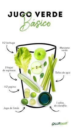Healthy Juice Recipes, Healthy Detox, Healthy Juices, Healthy Smoothies, Healthy Drinks, Healthy Tips, Healthy Eating, Juice Smoothie, Smoothie Drinks