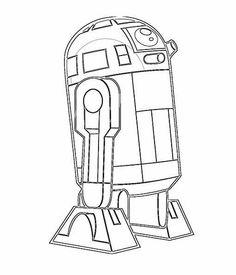 R2d2 Coloring Page 1000+ images about R2D...