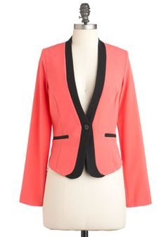 Professional to the Coral Blazer,  #Working It at Work   #Dress for Success  #Career Clothing
