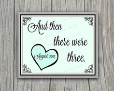 Pregancy Announcement Photo Prop  Nursery Decor by SignsOLife