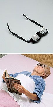 No lie, I am the laziest person in the world and actually want these. Read while lying flat on your back!