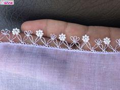Görümce Çatlatan 36 Farklı Boncuklu İğne Oyası Crochet Borders, Bobbin Lace, Baby Knitting Patterns, Bracelets, Handmade, Jewelry, Diamond, Needlepoint, Crochet Edgings