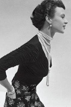 Classic Pearls 1950's