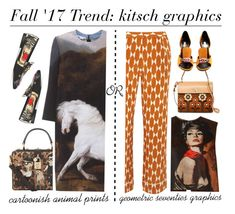 """New contest: kitsch graphics"" by xiandrina ❤ liked on Polyvore featuring Prada, Orla Kiely, Tory Burch, STELLA McCARTNEY, Dolce&Gabbana, Gucci, Fabrizio Viti and Levi's"