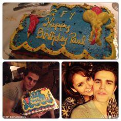 """Nina Dobrev's photo """"HAPPY BIRTHDAY @Paul Brinegar !!...""""  on @Jose Quilisadio"""