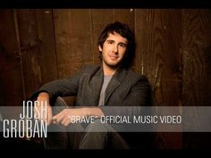 Not my normal taste but for some reason I love this! Josh Groban - Brave [Official Music Video]