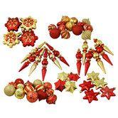 Found it at Wayfair - 57 Piece Shatterproof Christmas Ornament Set