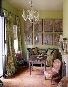 French-inspired New Orleans design: Benjamin Moore 'Castleton Mist' by xJavierx, via Flickr