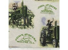 ✂ ✄✂ ✄✂ ✄✂ ✄✂ ✄1 yard of John  Deere hard to find  cotton fabric✂ ✄✂ ✄✂ ✄✂ ✄✂ ✄✂