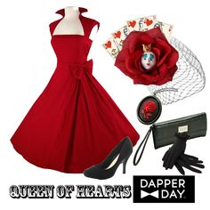 Queen of Hearts for Dapper Day