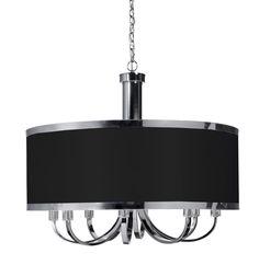 black drum light fixture
