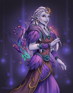 Fancy Troll Druid by Faebelina on DeviantArt