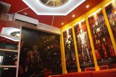 iron man room 2 my karaoke room design pinterest man room