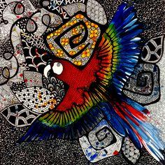 Arara - Luciana Pupo Art