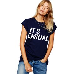 It's Casual Tee | SHOP BETCHES http://shopbetches.com/collections/never-sorry-collection/products/its-casual-tee