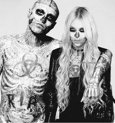 mine taylor momsen manip zombie rick genest ZOMBIE BOY hope you like it i fucking love rico because he's so nice with me every time that i talk to him and all this tattos is just adksjfghfjkld i love the idea of people call him of zombie boy because we are zombies lol