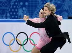 U.S. Ice Dancers Charlie White And Meryl Davis Are Basically A Real Life Disney Prince And Princess
