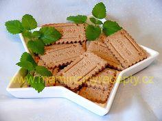 Pudinkové sušenky bez lepku Gluten Free, Bread, Vegan, Cooking, Ethnic Recipes, Food, Cookies, Glutenfree, Kitchen
