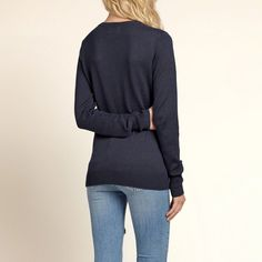 Fine Gauge Crewneck Sweater