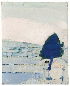 Paysage de Provence ,1953 -Nicolas de Staël (1914-1955)