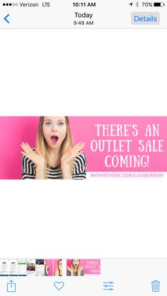 Join the event for all the juicy details that will be coming on our Thirty-One Spring Outlet Sale! goo.gl/RIKGd1  #Sale #Style #Organized #Organization #GetOrganized #Mom #MomLife #ThirtyOne #ThirtyOneGifts #Spring