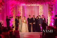 Westin Diplomat Wedding | Catering-Danziger Kosher Caterers | Event Designer-Petal Productions | Event Planner-D'Event | Wedding Gown-Nicolas Felizola | Videographer-Mana Productions | Music-Music Machine and DJ Samy | Sweets/Desserts-Ktering Desserts, Praline Pastries and Carol Franco Desserts | Makeup Artist-Patty Zrihen #nashweddings #jewishothordox #highend #orthodoxwedding #luxury #miamiweddings #westindiplomat #weddingphotography #indoorgardenwedding