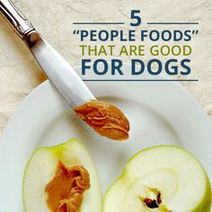 Many foods for dogs can be found in our refrigerators or pantries. But which ones O.K. for dogs to eat? You may be surprised. #dogrecipes #dogs #pets