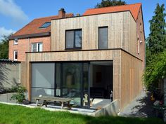 space [ ] raum Huizen kijken - Livios Use Creativity To Improve Your Home Article Body: It is import Extension Veranda, Brick Extension, House Extension Design, House Design, House Cladding, Exterior Cladding, Bungalow Extensions, House Extensions, Remodeling Mobile Homes
