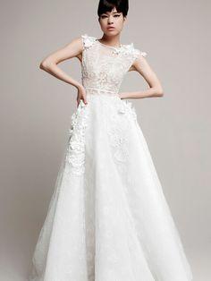 Vestido de novia de Yolan Cris 2014