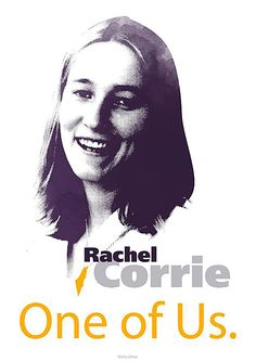 Rachel Corrie - One of Us | The Palestine Poster Project Archives